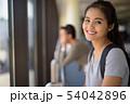 Young beautiful Asian tourist woman enjoying vacation 54042896
