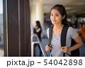 Young beautiful Asian tourist woman enjoying vacation 54042898