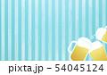 背景-ビール-乾杯-ストライプ-ブルー 54045124