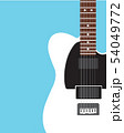 Electric guitar Flat design 54049772