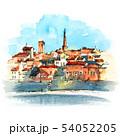 Famous Avignon Bridge, France 54052205