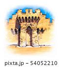 Avignon City Wall, France 54052210