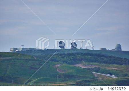 北海道 航空自衛隊稚内分屯基地のレーダーサイト 54052370