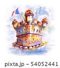 Old bastion fort in Menton, France 54052441