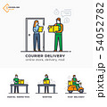 Delivery service, mail, courier online ordering 54052782