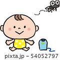 赤ちゃんに近寄れない蚊 54052797