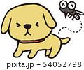 蚊に刺されるペット 54052798