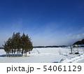 岩手の雪景色 54061129