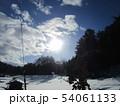 岩手の雪景色 54061133