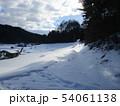 岩手の雪景色 54061138