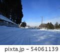 岩手の雪景色 54061139
