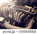 car engine close up 54064668