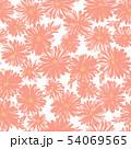 花 植物 花柄のイラスト 54069565