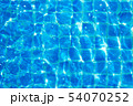 Top view swimming pool blue ripped water abstract 54070252