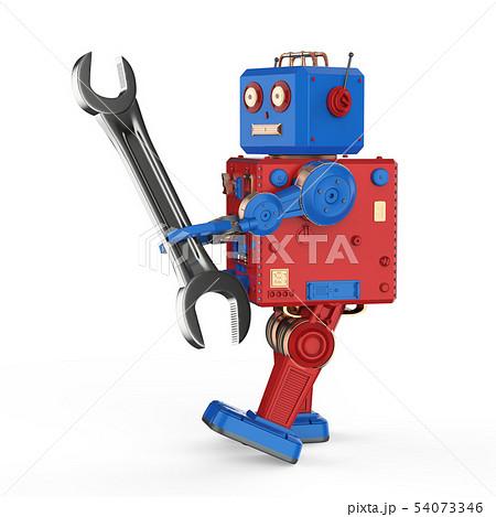 Engineer robot concept 54073346