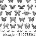 Art butterflies, seamless pattern for your design 54073501