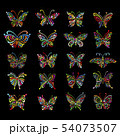 Ornate butterfly collection for your design 54073507
