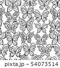 Art butterflies, seamless pattern for your design 54073514