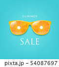 Sale Banner Sunglasses With Orange And Mint 54087697