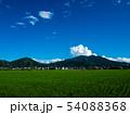 真壁側からの筑波山と雲、初夏青空 54088368