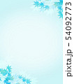 背景-和-和風-和柄-和紙-紅葉-夏-水色 54092773