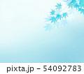 背景-和-和風-和柄-和紙-紅葉-夏-水色 54092783