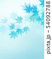 背景-和-和風-和柄-和紙-紅葉-夏-水色 54092788