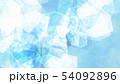 背景-夏-氷-ブルー 54092896