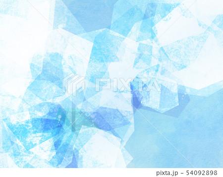 背景-夏-氷-ブルー 54092898