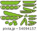 えんどう豆 スナップエンドウ 豆のイラスト 54094157