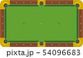 ビリーヤード台のイメージイラスト 54096683