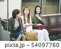 電車乗車イメージ 「撮影協力 札幌市交通局」 54097760