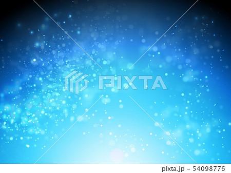 青色キラキライメージ 54098776