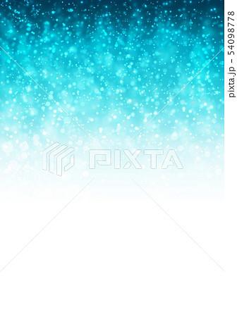 青色キラキライメージ 54098778