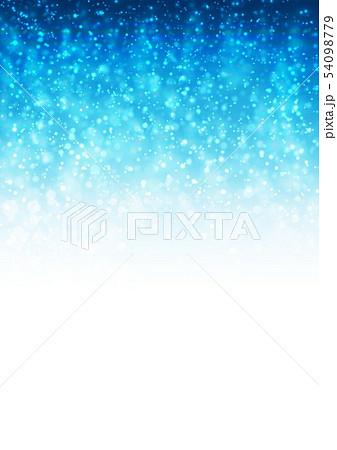 青色キラキライメージ 54098779