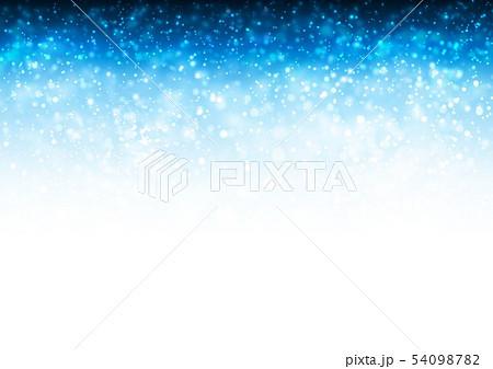 青色キラキライメージ 54098782