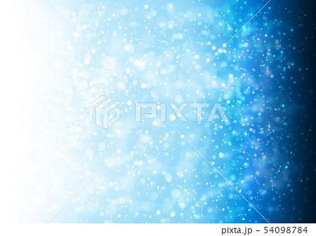 青色キラキライメージ 54098784
