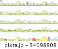 いろいろな街のイラスト セット 54098808
