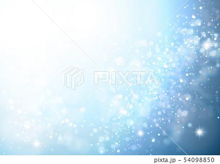 青色キラキライメージ 54098850