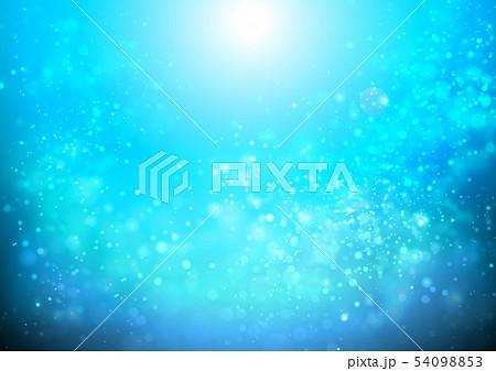 青色キラキライメージ 54098853