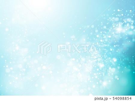 青色キラキライメージ 54098854