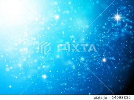 青色キラキライメージ 54098856