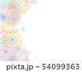 花火のイラスト背景 54099363