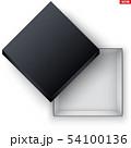 Blank of Open Black Shoe Box 54100136