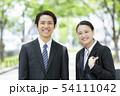 女性 男性 ビジネスウーマンの写真 54111042