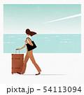 旅する女性 54113094