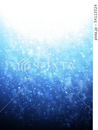 青色キラキライメージ 54113524