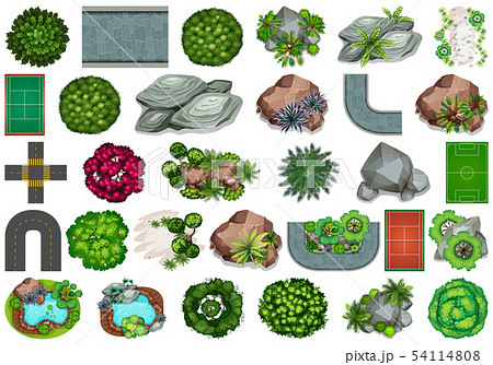 Set of garden element 54114808