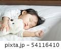 睡眠 赤ちゃん ベビーの写真 54116410