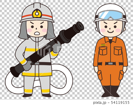 Firefighter man 54119155